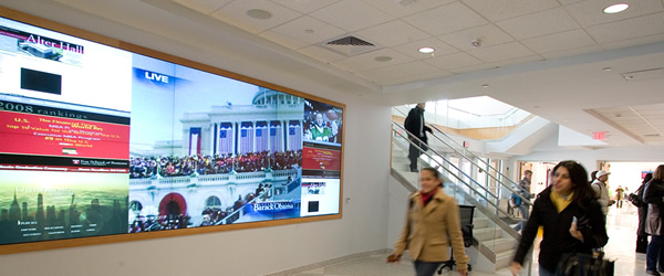Digital Signage в туристических агентствах