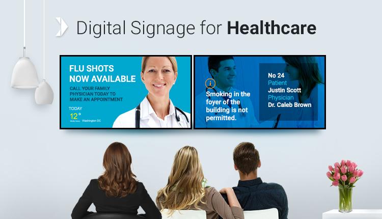 Digital Signage в медицинских центрах