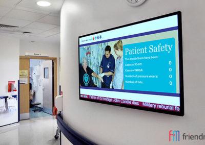 Цифрови обяви Digital Signage в медицински центрове