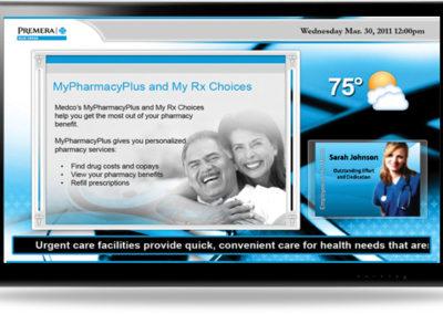 Цифровые объявления Digital Signage в медицинских центрах