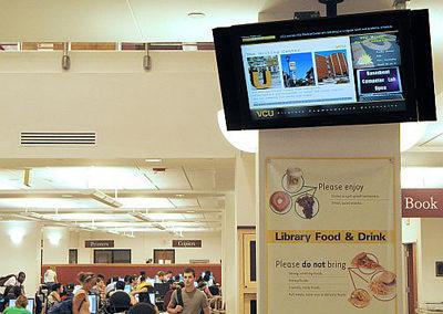 Digital Signage в школах, колледжах, университетах и других учебных заведениях