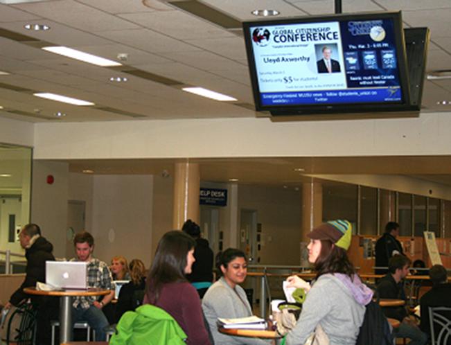 Digital Signage в школах, колледжах, университетах