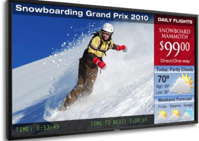 Спорт на Digital Signage