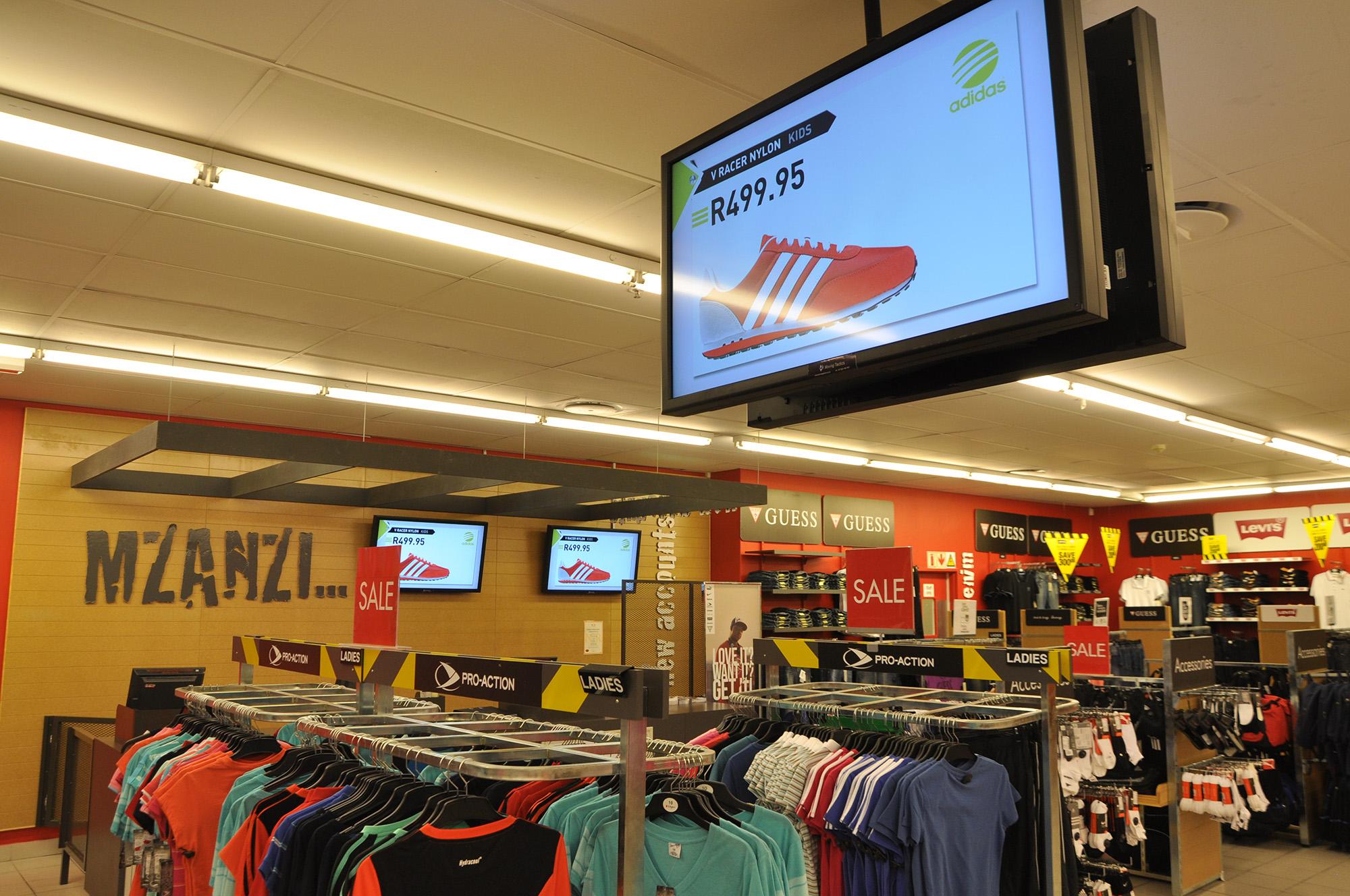 Digital Signage за магазини, аптеки, търговски центрове и молове