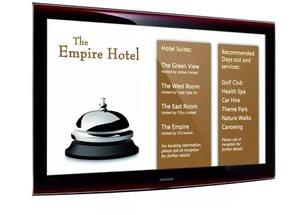 Digital Signage для гостей вашего отеля